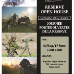 British Columbia Dragoons to Host Army Open House