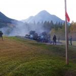 British Columbia Dragoons Ballistic Dragoon 2017 - C6 Firing On G-Wagons