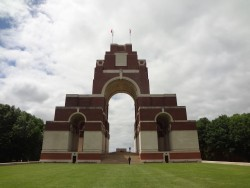 Thiepval Memorial at the World War 1 Battle of the Somme. Photos by Sgt. M Peet