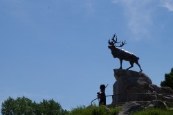 Beaumont-Hamel Memorial from The Battle of The Somme in World War 1. Photos by Sgt. M Peet.